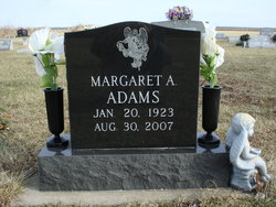Margaret Anne <i>Barnett</i> Adams