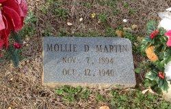 Mollie Dora Mae <i>Campbell</i> Martin