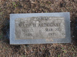 Mary W Arbogast