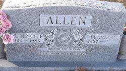 Laurence Everett Bud Allen
