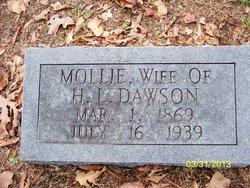 Mary Mollie <i>Fisher</i> Dawson