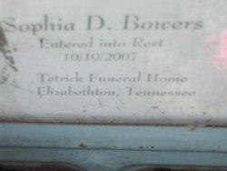 Sophia <i>Dinsmore</i> Bowers