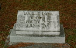 Lucille <i>Lowe</i> Brown