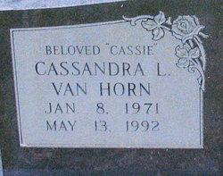 Cassandra L Cassie Van Horn