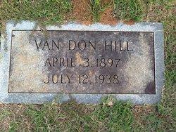 Van Don Hill, Sr