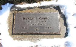 Henry F Hank Cabre