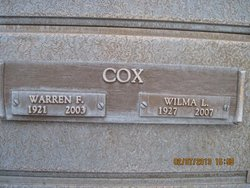 Warren F. Cox