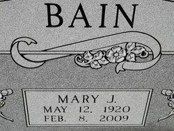 Mary Jim Bain