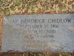 May Virginia <i>Hendrick</i> Chidlow