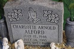Charlotte <i>Arnold</i> Alford