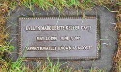 Evelyn Marguerite Moosie <i>Keller</i> Davis