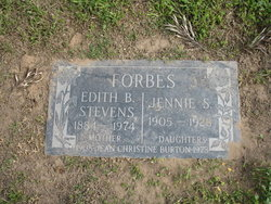 Jean Christine <i>Forbes</i> Burton