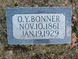 Oliver Young Young or O.Y. Bonner