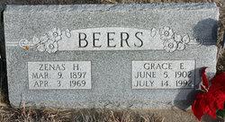 Grace E. <i>Woodman</i> Beers