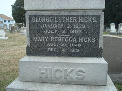 Dr George Luther Hicks