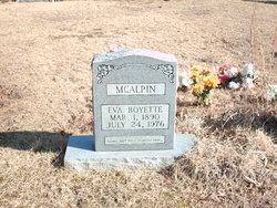 Eva <i>Boyette</i> McAlpin