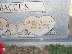 Gordon Louis Baccus, Sr