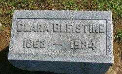 Clara <i>Lantz</i> Bleistine
