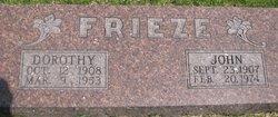 Dorothy <i>French</i> Frieze
