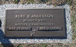 Ruby <i>Byrd</i> Anderson