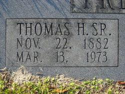 Thomas H Freeman, Sr
