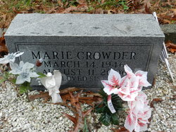 Marie <i>Sanford</i> Crowder