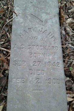 Mary Jane Mollie <i>Larkens</i> Stockard