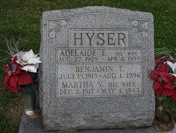 Adelaide Elizabeth <i>Ibex</i> Hyser