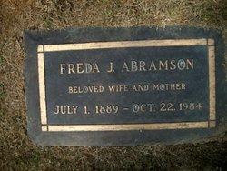 Freda Julia <i>Bittner</i> Abramson