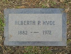 Margaret Alberta <i>Proctor</i> Hyde