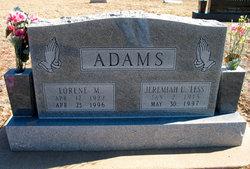 Lorene M Adams