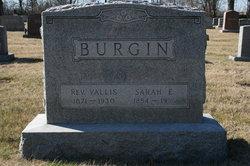 Rev Valis Burgin