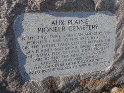 Aux Plaine Pioneer Cemetery