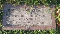 Judith T. <i>Katz</i> Christensen Wright