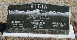 Rachel Estell <i>Bartlett</i> Klein