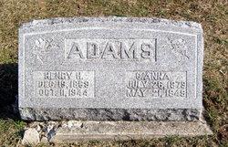 Clara Anna <i>Foster</i> Adams