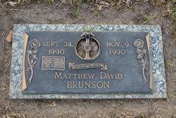 Matthew David Brunson