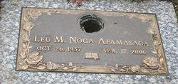 Leu M <i>Noga</i> Afamasaga