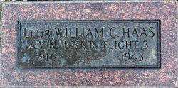 LTJG William Coakley Haas