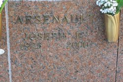 Joseph E Arsenault