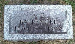 Alonzo E. Ballenger