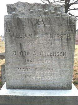 Rhoda A. Anderson