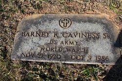 Barney R Caviness, Sr