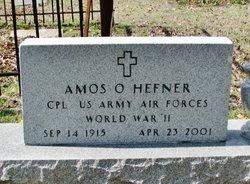 Amos O Hefner