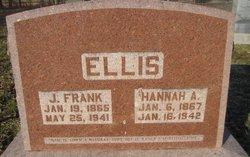James Franklin Frank Ellis