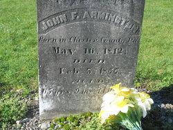 John Frederick Armington