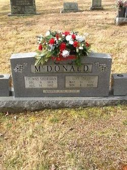 Sgt Thomas Sheridan McDonald