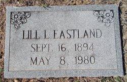 Lillie Lee Lill <i>Lipscomb</i> Eastland