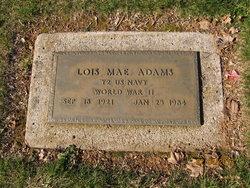Lois Mae <i>Hogue</i> Adams
