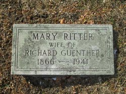 Mary W. <i>Ritter</i> Guenther